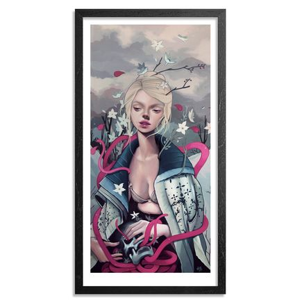 Kelsey Beckett Art Print - The Rose Elf - Limited Edition Prints