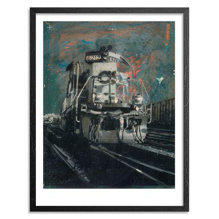 Kenji Nakayama Art - Beacon Park Yard - Limited Edition Prints - Framed