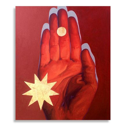 Kevin Ledo Original Art - Red Hand Study