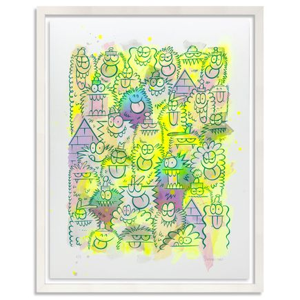 Kevin Lyons Original Art - Monster Party - Acrylic Abstract 2/4