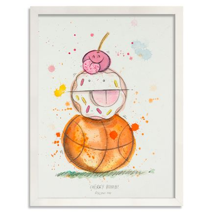 Kevin Lyons Original Art - Cherry Bomb