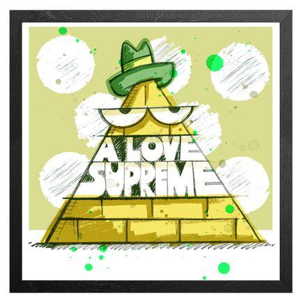 Kevin Lyons Art Print - John Coltrane - A Love Supreme