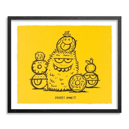 Kevin Lyons Art Print - Daddy's Home - Yellow Edition