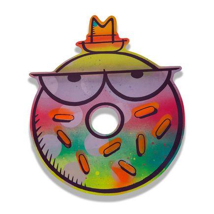 Kevin Lyons Original Art - Detroit Donuts (Hot Like Fire)