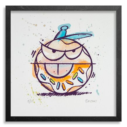 Kevin Lyons Original Art - Loosie (Donut Drawing) - 4/31