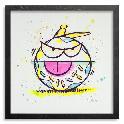 Kevin Lyons Original Art - Loosie (Donut Drawing) - 20/31