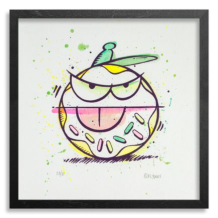 Kevin Lyons Original Art - Loosie (Donut Drawing) - 28/31
