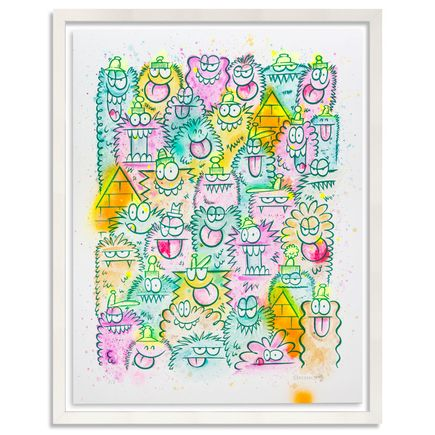 Kevin Lyons Original Art - Watercolor II