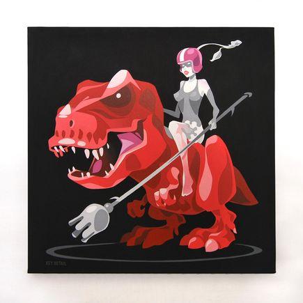 Key Detail Original Art - Cherry Force - Original Artwork