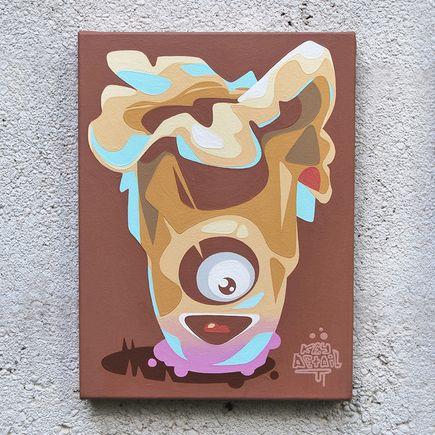 Key Detail Original Art - New York Mushroom - Original Artwork