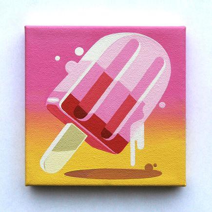 Key Detail Original Art - Sweet Addiction - Popsicle - Original Artwork