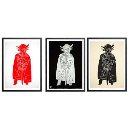 Kid Acne Art - Commander Makara - Limited Edition 3 Print Set