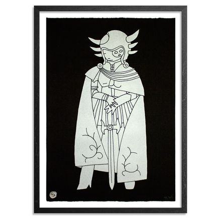 Kid Acne Art - Commander Makara - Silver Edition