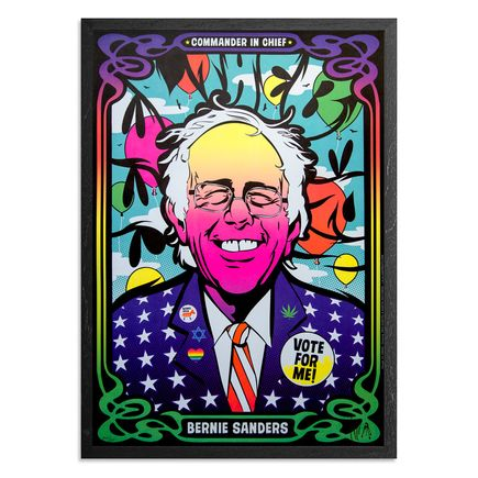 Kii Arens Art Print - Color The Bern
