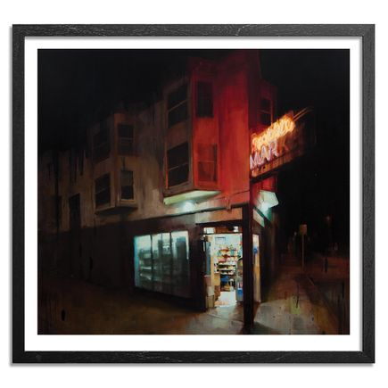 Kim Cogan Art Print - Midnight Spot Lite