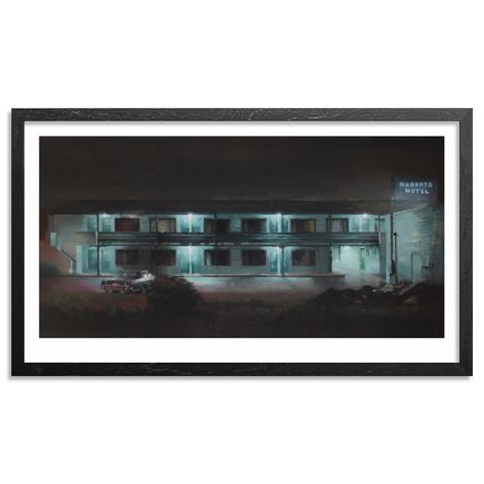 Kim Cogan Art Print - Old Roberts Motel