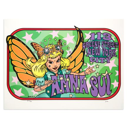 Kozik Art - Anna Sui -  1997 113 Greene St. New York