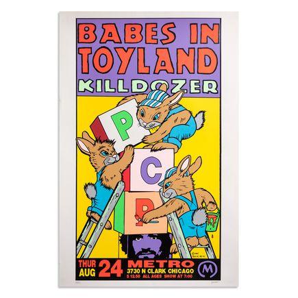 Frank Kozik Art Print - Babes In Toyland - Metro, Chicago - 1995