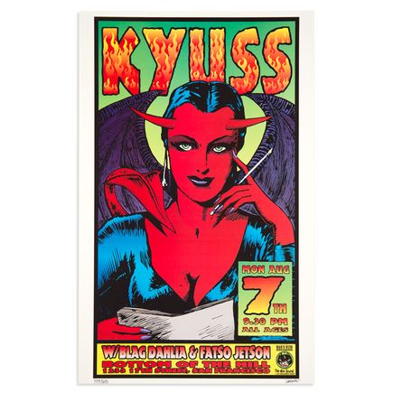 Kozik Art - Kyuss - Aug. 7th, 1995 at Bottom of the Hill San Francisco