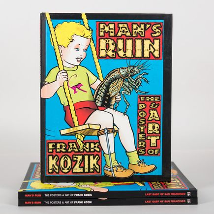 Kozik Book - Man's Ruin The Posters & Art of Frank Kozik - Hardcover