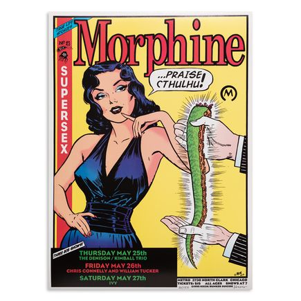 Kozik Art Print - Morphine - Chicago - 1995