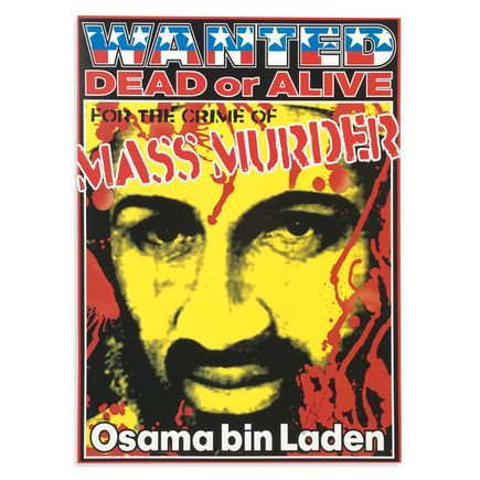 Kozik Art - Osama bin Laden Wanted Dead or Alive