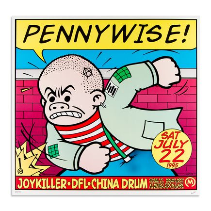 Kozik Art - Pennywise - July 22nd 1995 at Metro