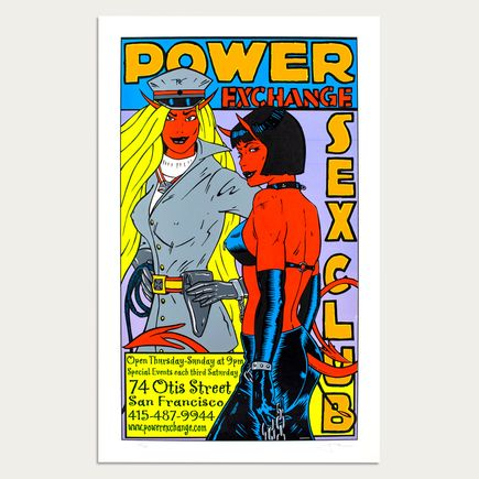 Kozik Art - Power Exchange Sex Club - San Francisco 2001