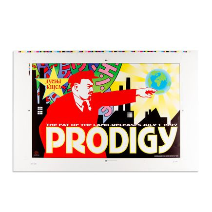 Kozik Art - Prodigy - Album Release - July 1 1997