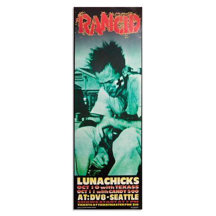 Frank Kozik Art Print - Rancid - Lunachicks - DV8 Seattle - 1995