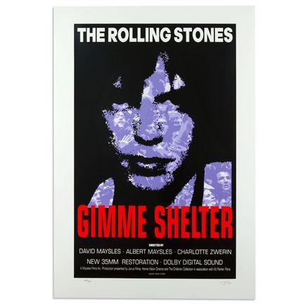 Frank Kozik Art - The Rolling Stones - Gimme Shelter