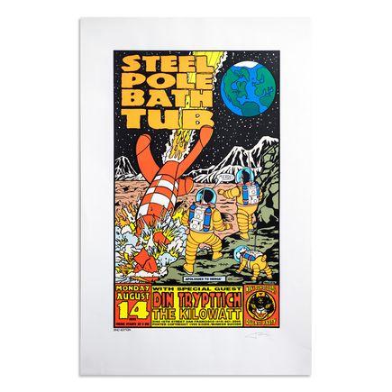 Frank Kozik Art Print - Steel Pole Bathtub - August 14, 1995 - San Francisco
