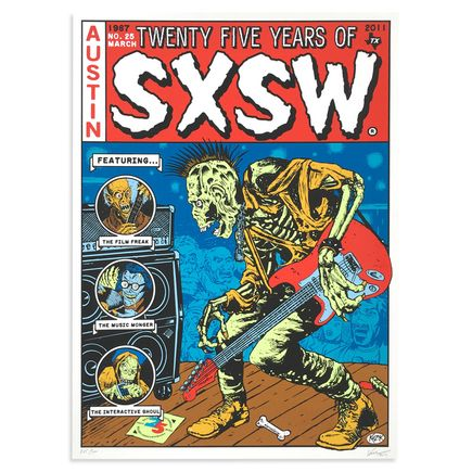 Kozik Art - SXSW Austin