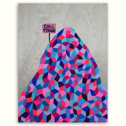 Kristin Farr Original Art - Call Tyrone When You Get To The Top - Original Artwork
