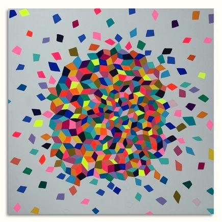 Kristin Farr Original Art - Confetti Cloud II - Original Artwork