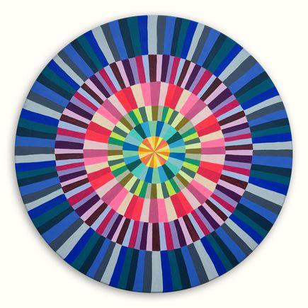 Kristin Farr Original Art - Magic Hecksagon (Stripes) - Original Artwork