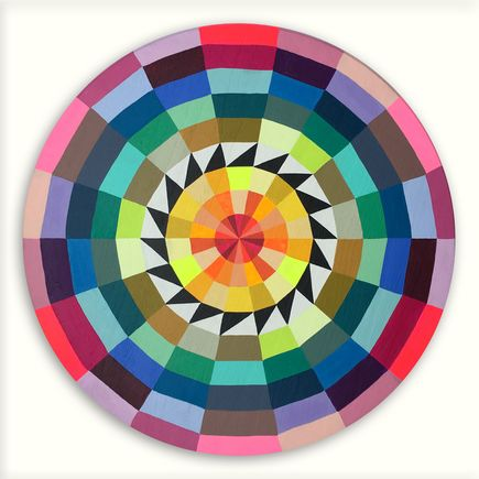 Kristin Farr Original Art - Magic Hecksagon (Rainbowz) - Original Artwork