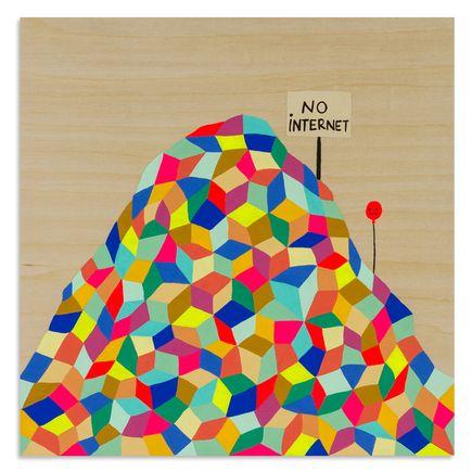 Kristin Farr Original Art - No Internet - Original Artwork
