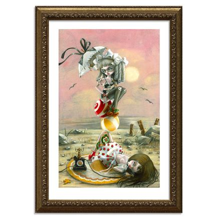 Kukula Art - Dreams Of Summer - Framed