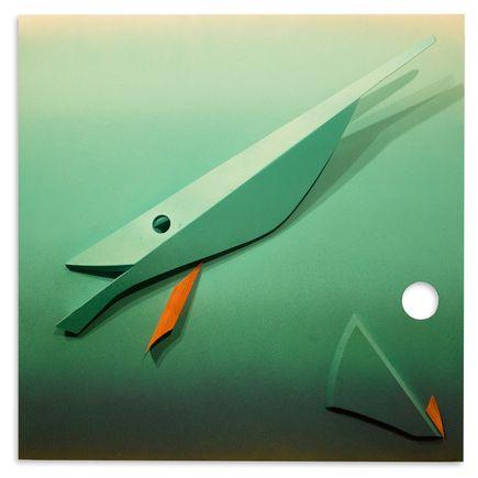 Kwest Original Art - Predator and Prey 3 of 5