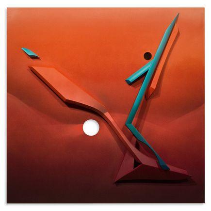 Kwest Original Art - Tangible Gravity 4 of 5