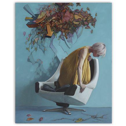 Kyle Stewart Art Print - Her Thoughts Exactly - Original Artwork