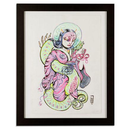 Lauren YS Original Art - Astro Geisha