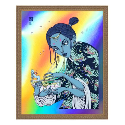 Lauren YS Art Print - Noodle Time - Foil Edition