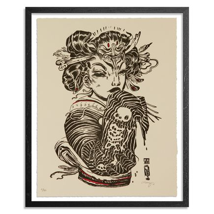 Lauren YS Art Print - Phantom Limb