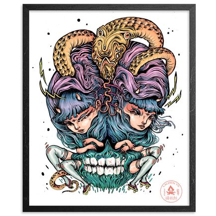 Lauren YS Art Print - Snake Eyes