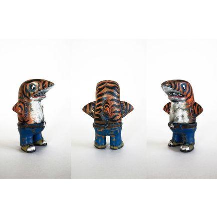 Leecifer Original Art - Steeltoed Tiger