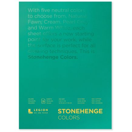 Legion Paper Art - 5x7 Stonehenge Colors Paper Pad