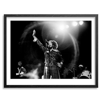 Leni Sinclair Art - Bob Marley - The Detroit Showcase Theater - June 14th, 1975 - 18x14 Inch Edition