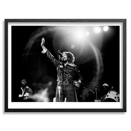 Leni Sinclair Art - Bob Marley - The Detroit Showcase Theater - June 14th, 1975 - 24x18 Inch Edition